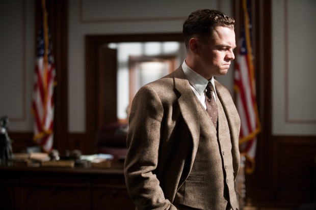 "LEONARDO DiCAPRIO as J. Edgar Hoover in Warner Bros. Pictures' drama ""J. EDGAR,"" a Warner Bros. Pictures release.  Photo by Keith Bernstein"