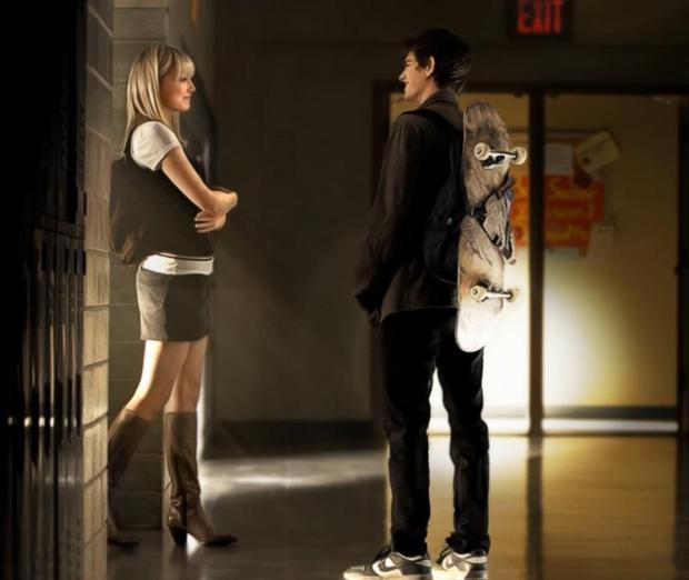 Andrew Garfield et Emma Stone, un couple glamour qui participe activement à la réussite du film.